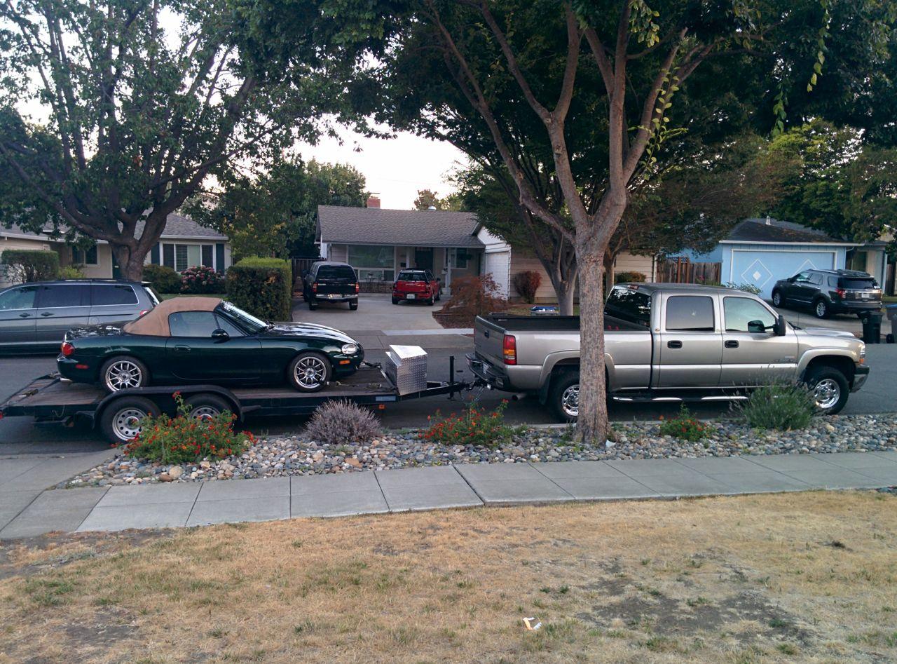 Carson car hauler